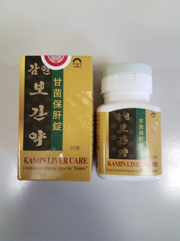Камин, гепатопротекторное и антивирусное средство