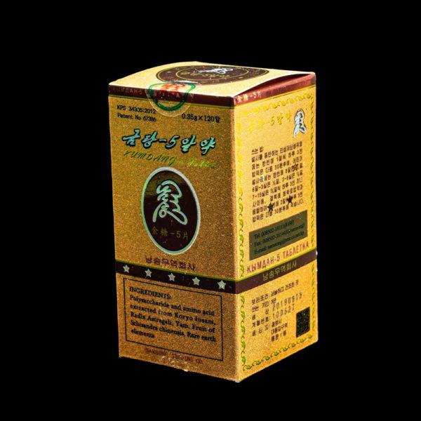 Кымдан-5 универсальный многофункциональный препарат из кэсонского женьшеня