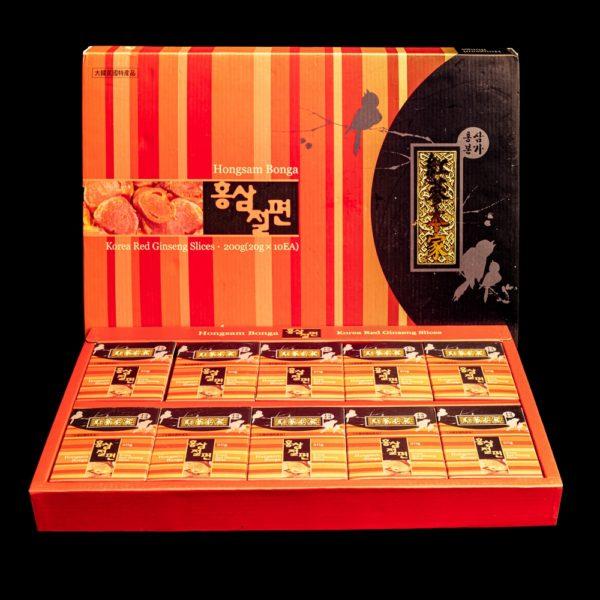 фото медовых цукатов на основе красного корейского женьшеня, GOLD