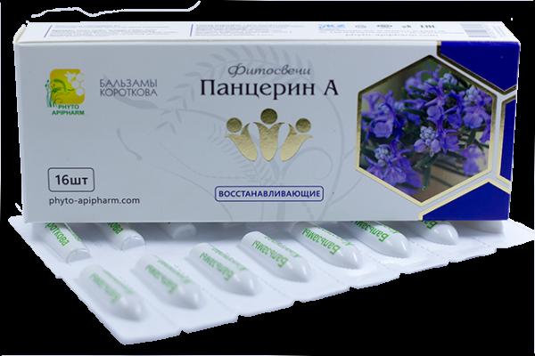 Фитосвечи Панцерин А бальзамы Короткова