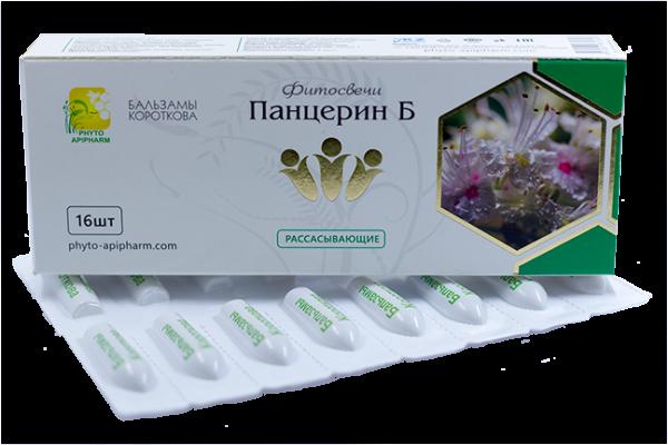 фитосвечи Панцерин Б бальзамы Короткова