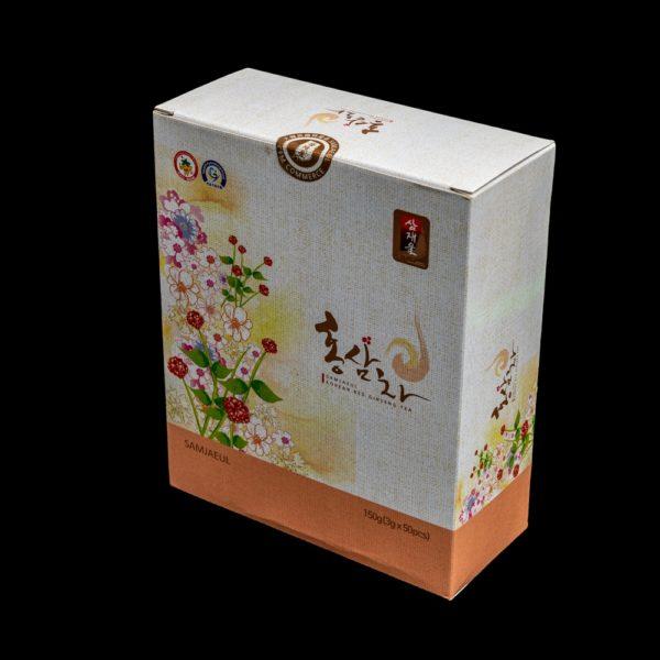 Напиток из красного корейского женьшеня с наивысшими лечебно-профилактическими свойствами